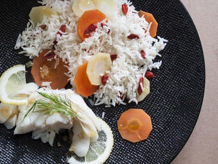 Saint Valentin: le riz aux baies de Goji