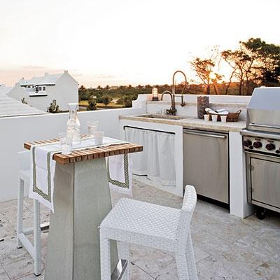 Pour ou contre la cuisine d'été?